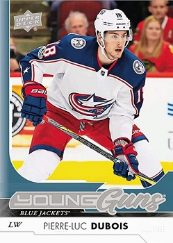 Dubois 2017-18 Upper Deck Young Guns
