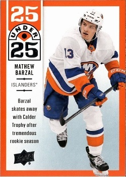 Barzal 2018-19 Upper Deck 25 under 25