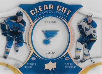 2018-19 Upper Deck Clear Cut Foundations St. Louis Blues