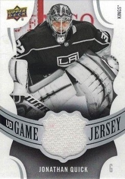 2018-19 Upper Deck Game Jersey Quick