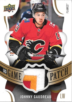 2018-19 Upper Deck Game Patch Johnny Gaudreau