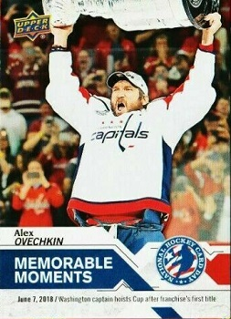Alex Ovechkin 2018-19 Stanley Cup Hockey Card