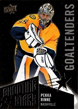 2018-19 Upper Deck Shooting Stars Black Pekka Rinne
