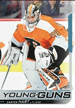 Carter Hart 2018-19 Upper Deck Young Guns Rookie Card