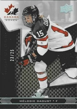 Melodie Daoust Team Canada Women High Gloss 2018