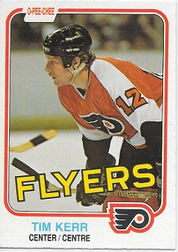 Tim Kerr 1981-82 O-Pee-Chee Rookie Card #251