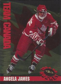 Anglea James 1994 Women of Hockey