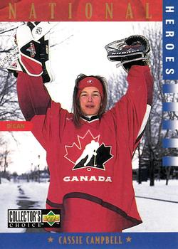 Cassie Campbell 1997-98 Collector's Choice