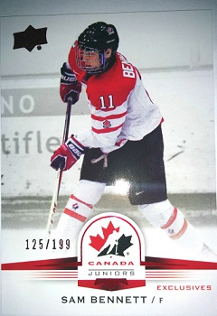 Sam Bennett Upper Deck Rookie Card