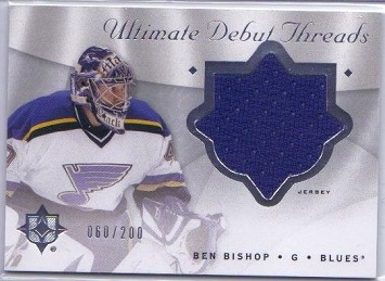 Ben Bishop 2008-09 Ultimate Threads Rookie Card