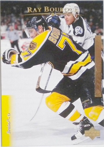 Ray Bourque Upper Deck Exclusives Gold