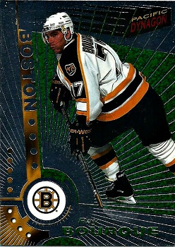 Ray Bourque Pacific Dynagon Silver #7 hockey card