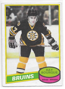 Ray Bourque O-Pee-Chee Rookie Card