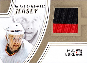 Pavel Bure ITG Game Used Jersey 10 made