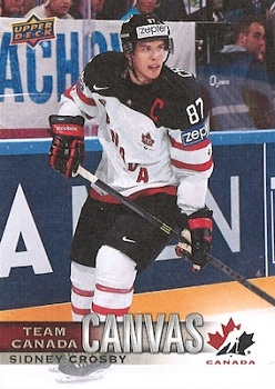Sidney Crosby Canadian Tire Canvas #TCC1