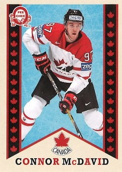 Connor McDavid Canadian Tire OPC Retro