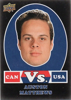 Auston Matthews 2017-18 Canadian Tire VS Black