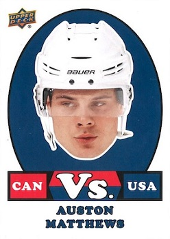 Auston Matthews Canadian Tire VS Versus