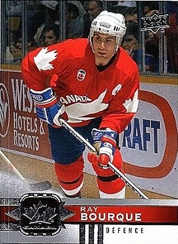 2017-18 Canadian Tire Ray Bourque hockey card