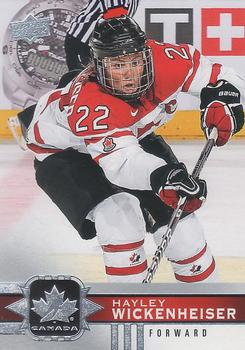 Hayley Wickenheiser 2017-18 Canadian Tire