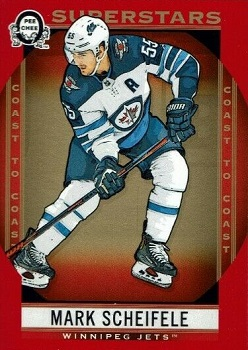 Mark Scheifele 2018-19 Canadian Tire Red Parallel