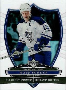 Mats Sundin Hockey Cards