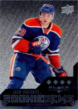Leon Draisaitl Black Diamond Rookie Card