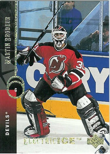 Upper Deck Electric Ice Martin Brodeur