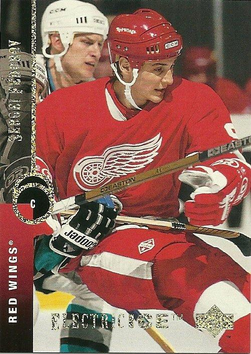 Sergei Fedorov Upper Deck Electric Ice