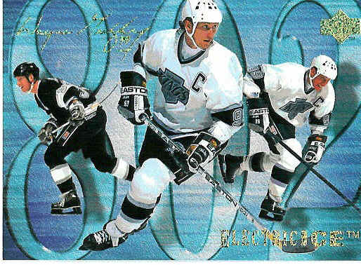 Wayne Gretzky hockey card 226
