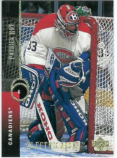 Patrick Roy Upper Deck Electric Ice