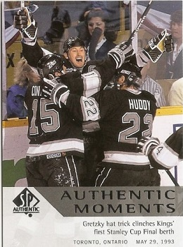 Wayne Gretzky 2012-13 SP Authentic #162