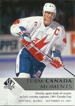 Wayne Gretzky 2012-13 SP Authentic #205