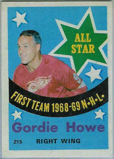 Gordie Howe Hockey Card
