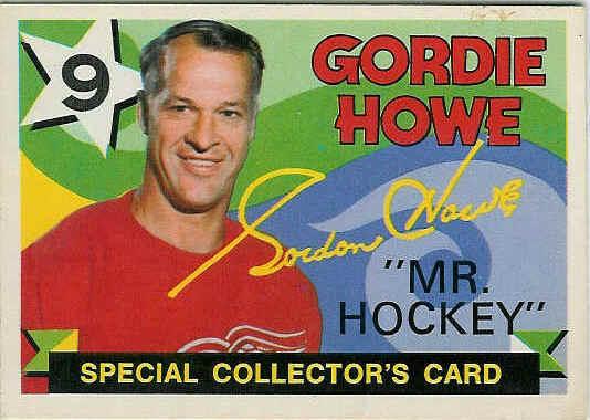 Gordie Howe 71-72 O-Pee-Chee Hockey Card #262