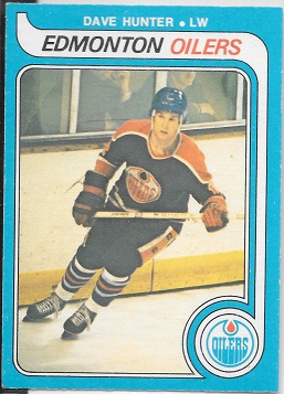 Dave Hunter 1979-80 O-Pee-Chee Rookie Card #387