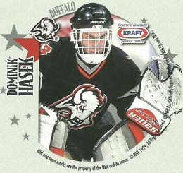 Dominik Hasek Kraft Peanut Butter Disc All-Stars