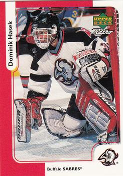 Dominik Hasek McDonalds Upper Deck Retro