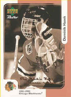 Dominik Hasek 1999-00 McDonalds Retro #3r