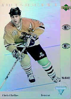Chris Chelios 1991-92 McD Upper Deck