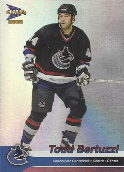Todd Bertuzzi 2003 McDonalds Hockey Card