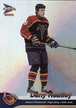 Dany Heatley 2003 McDonalds hockey card