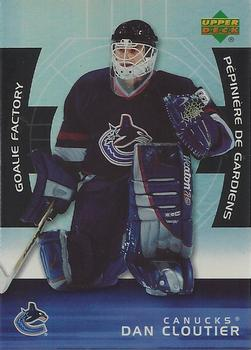 Dan Cloutier Hockey Cards