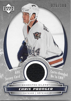 2006-07 McDonalds Chris Pronger Jersey Card