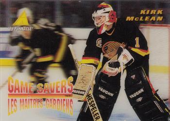 Kirk McLean Hockey Card