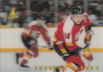 Theoren Fleury Hockey Card