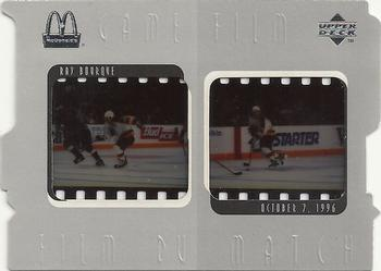Ray Bourque Game Film Hockey Cards