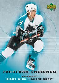 Jonathan Cheechoo Hockey Cards