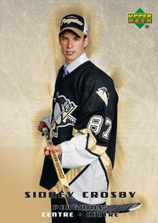 Sidney Crosby McDonalds Rookie Card