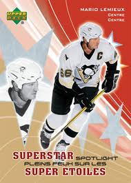 Mario Lemieux Hockey Cards